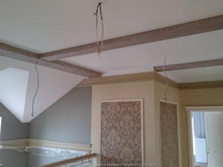 Фальш балки на гипсокартонном потолке