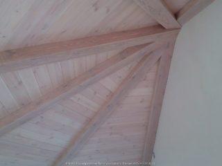 Фальш балки на круглом потолке