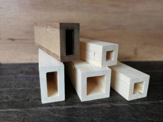 Профиля из древесины для перегородок