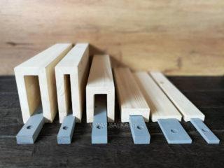 Профиля для потолочных реек из дерева