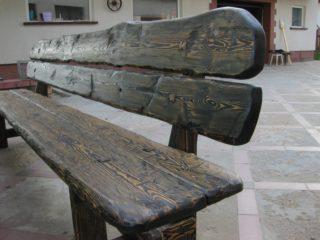 Мебель из дерева для улицы 010